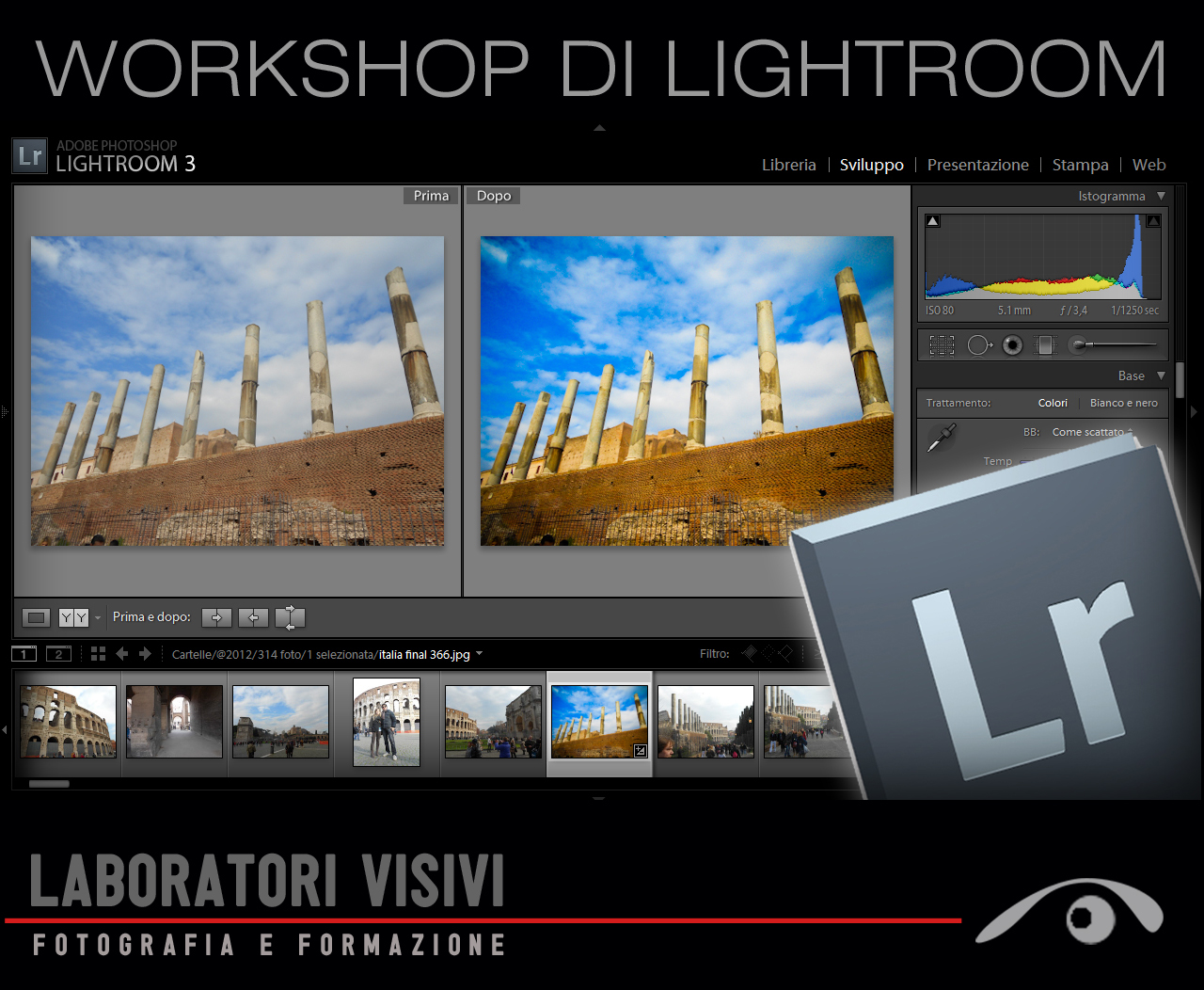 Workshop Adobe LIGHTROOM